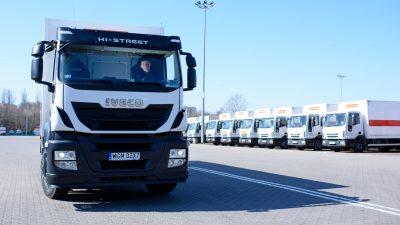 Poczta Polska z tysiącem nowych aut