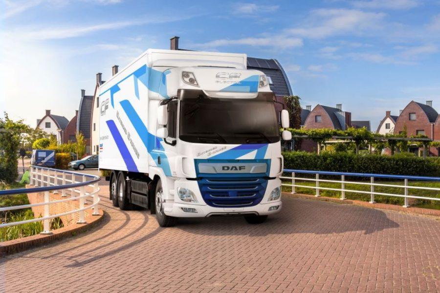 DAF wprowadza pojazdy CF Electric