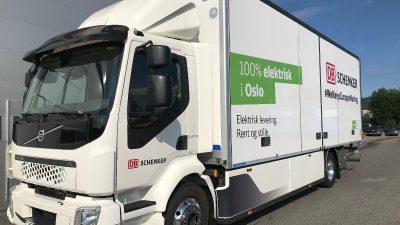 DB Schenker z nową ciężarówką Volvo FL Electric