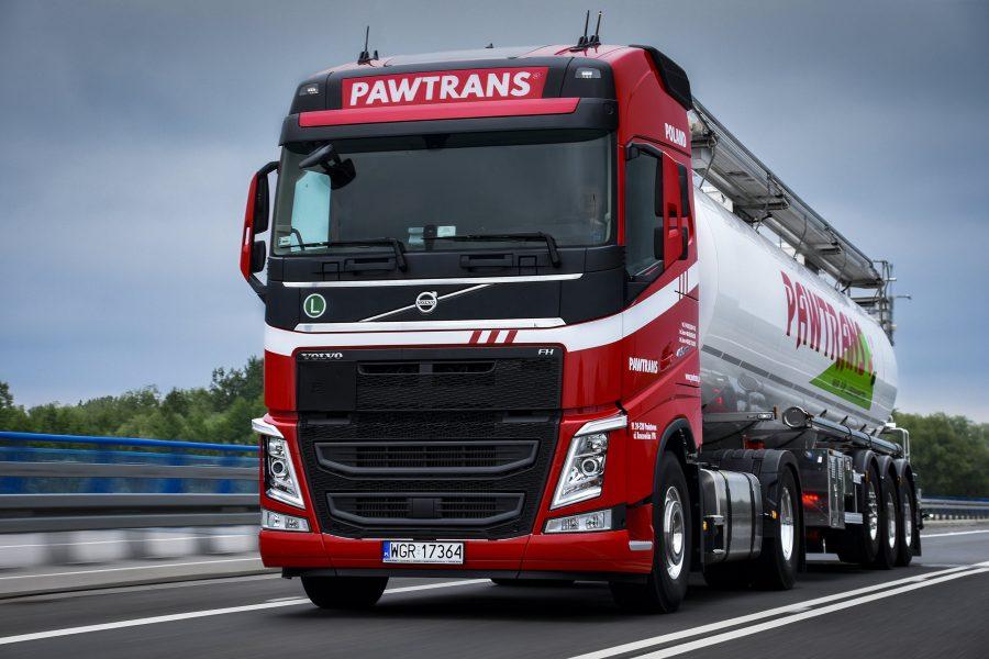 Volvo FH wracają do floty Pawtrans