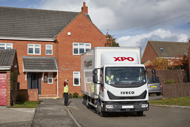 XPO Logistics zadbał o ostatnią milę Samsung Climate Solutions