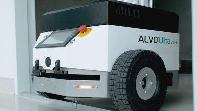 ALVO Ultra V-bot – mobilny robot dezynfekujący UV-C