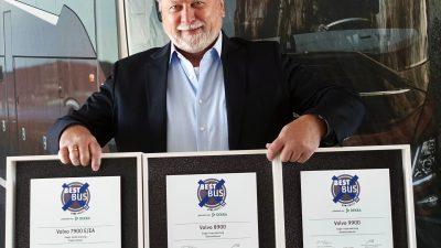 Trzy nagrody dla autobusów Volvo z polskiej fabryki