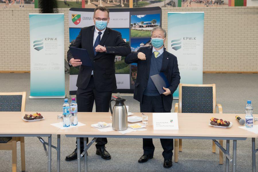 LG Chem przekazuje 5 mln zł na modernizację wodociągów w Kobierzycach