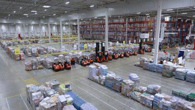 Mobilna przepakownia w ID Logistics