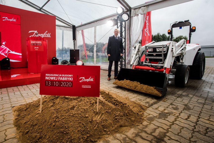 Ruszyła budowa nowej fabryki Danfoss Poland