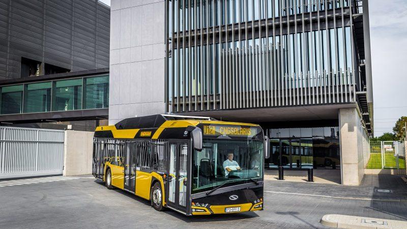 Solaris sprzedał do Tallina autobusy z pakietem antycovidowym