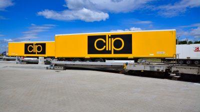 CLIP Group instaluje pierwszy w Polsce Lohr Railway System