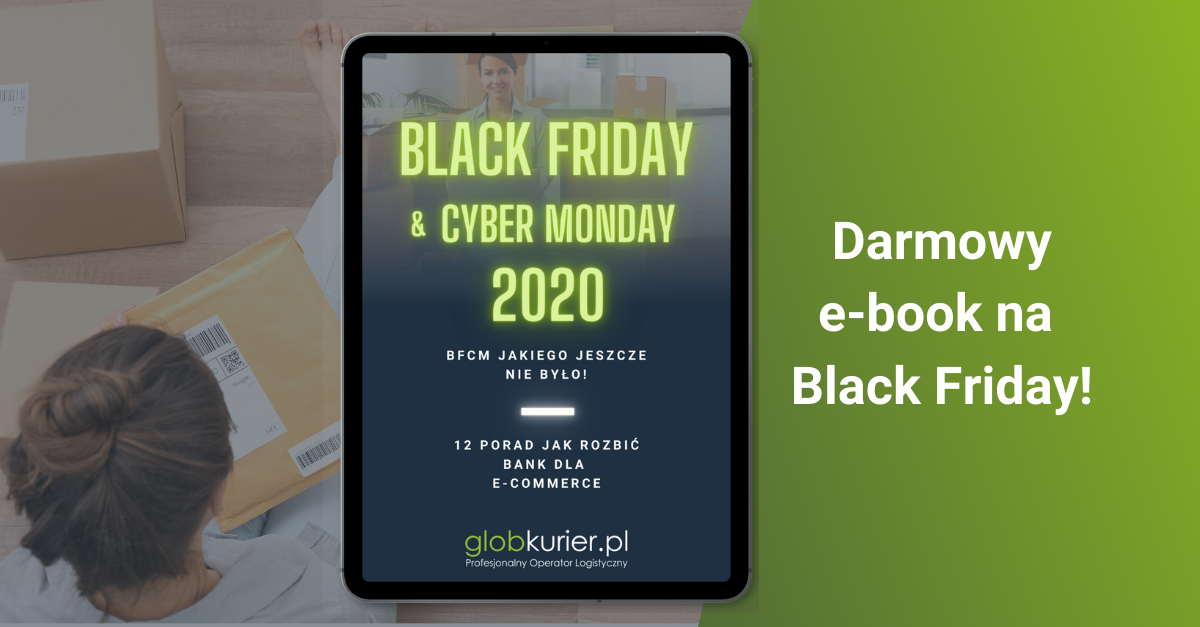 Porady dla e-commerce na Black Friday – wyjątkowy e-book od GlobKurier.pl