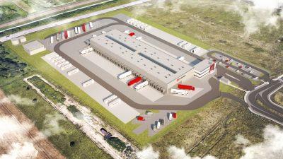 Powstaje nowoczesny terminal DB Schenker w Rzeszowie