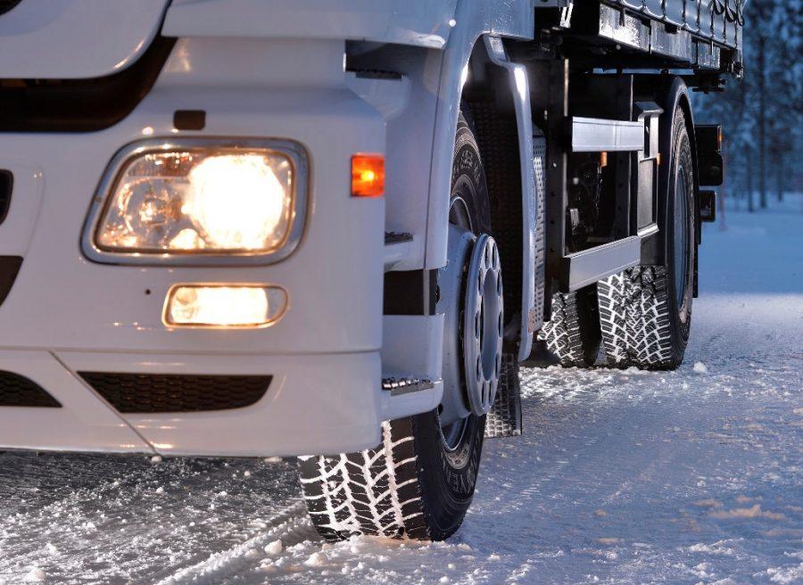 Maksymalizacja zimowej mobilności aut ciężarowych i naczep
