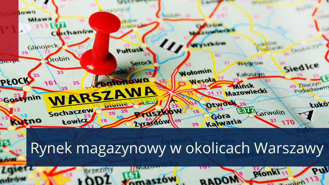 Okolice Warszawy centralnym hubem dla największego ośrodka miejskiego i całego kraju