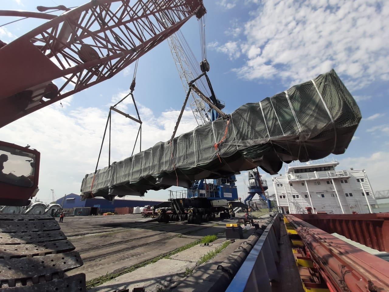GEFCO z transportem ładunków ponadgabarytowych dla rosyjskiego giganta