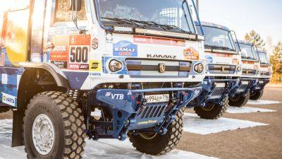 Kamaz-master i Goodyear po zwycięstwo w Rajdzie Dakar