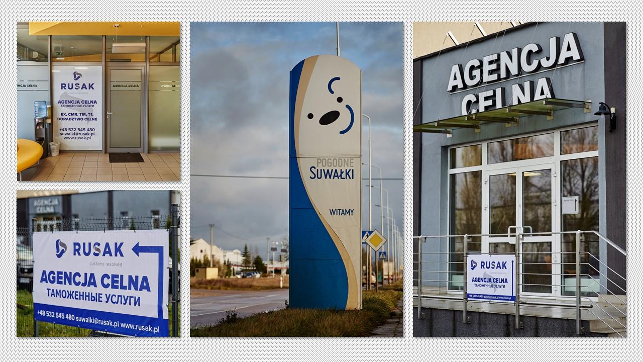 Nowe biuro agencji celnej Grupy Rusak w Suwałkach