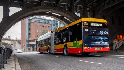 To już 20 000 autobusów z fabryki Solarisa