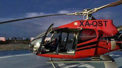 Dachser i dostawa helikopterem