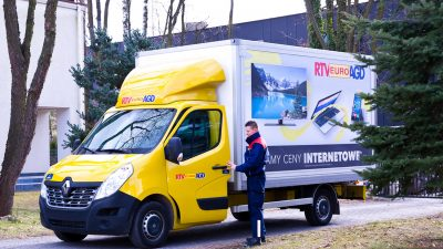 RTV EURO AGD i innowacje w transporcie