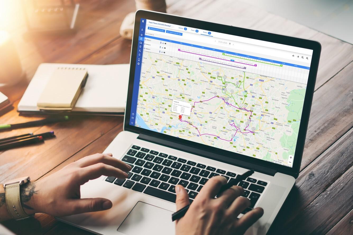 5 zalet korzystania z programu do optymalizacji tras transportowych