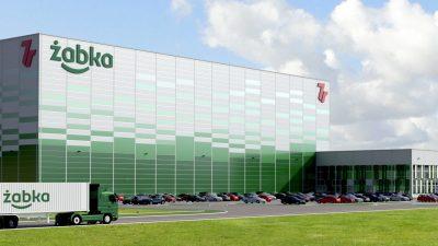 Żabka inwestuje w pełni zautomatyzowane centrum logistyczne