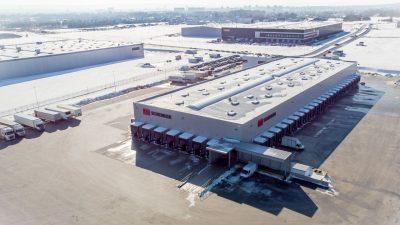 DB Schenker uruchomił operacje w nowym terminalu