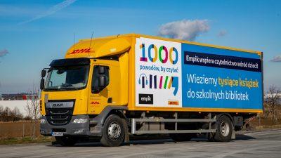 """DHL Supply Chain partnerem akcji """"1000 powodów, by czytać"""""""