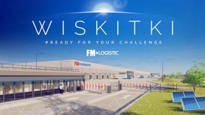 Nowa platforma logistyczna FM Logistic w Wiskitkach