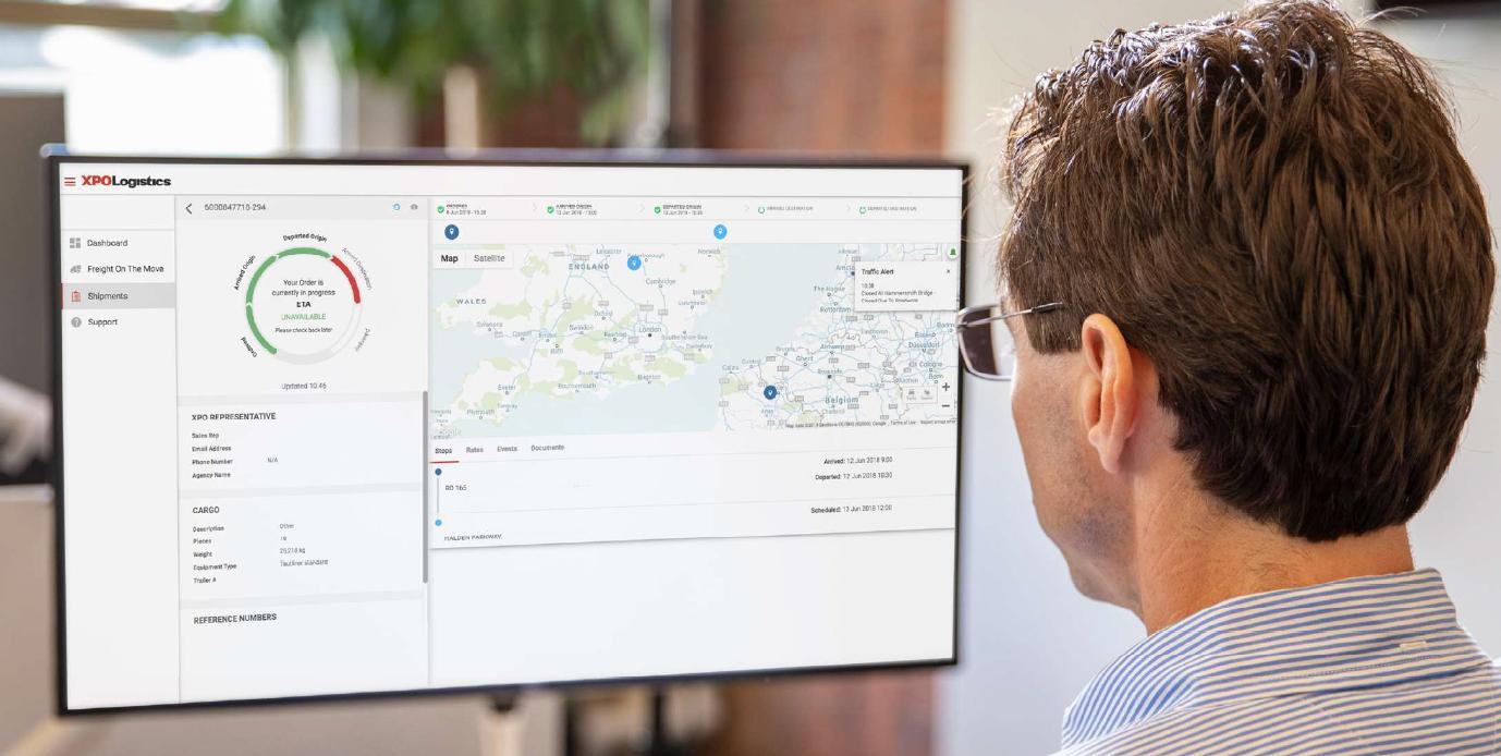 XPO Logistics przekroczyło 300 tys. pobrań aplikacji transportowej