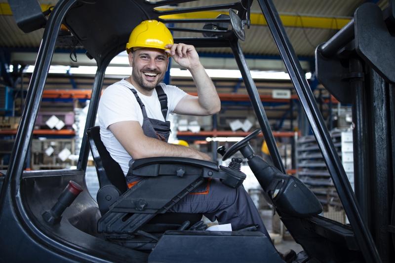 Na rynku brakuje operatorów wózków widłowych