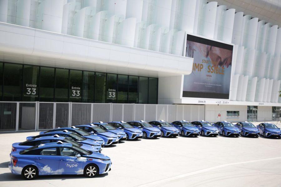 600 wodorowych taxi na wodór