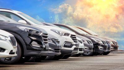 Mniej ofert na auta używane