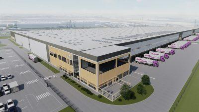 123 tys. mkw. we Wrześni – VidaXL buduje centrum dystrybucyjne