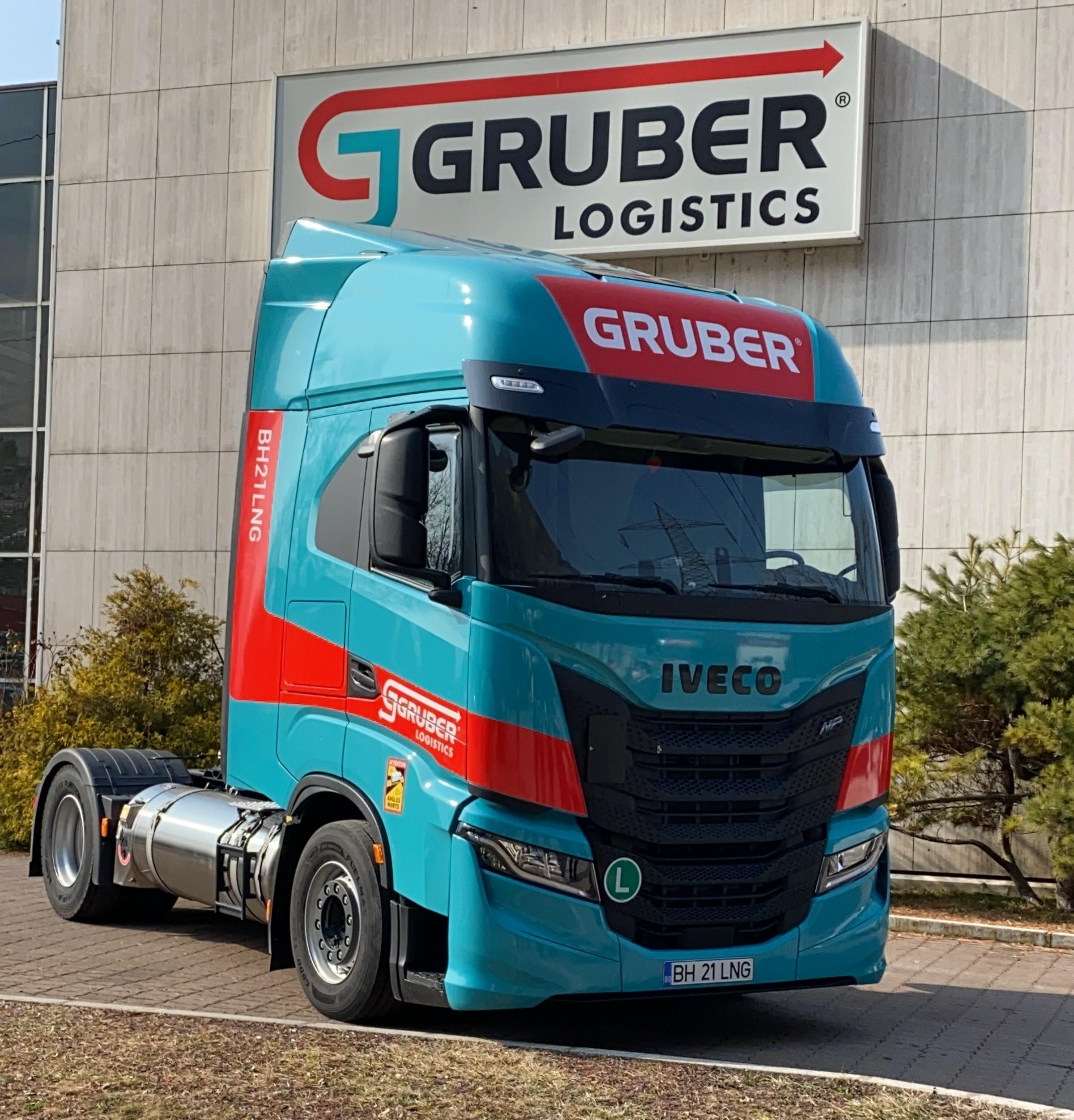 Gruber Logistics z nowymi pojazdami