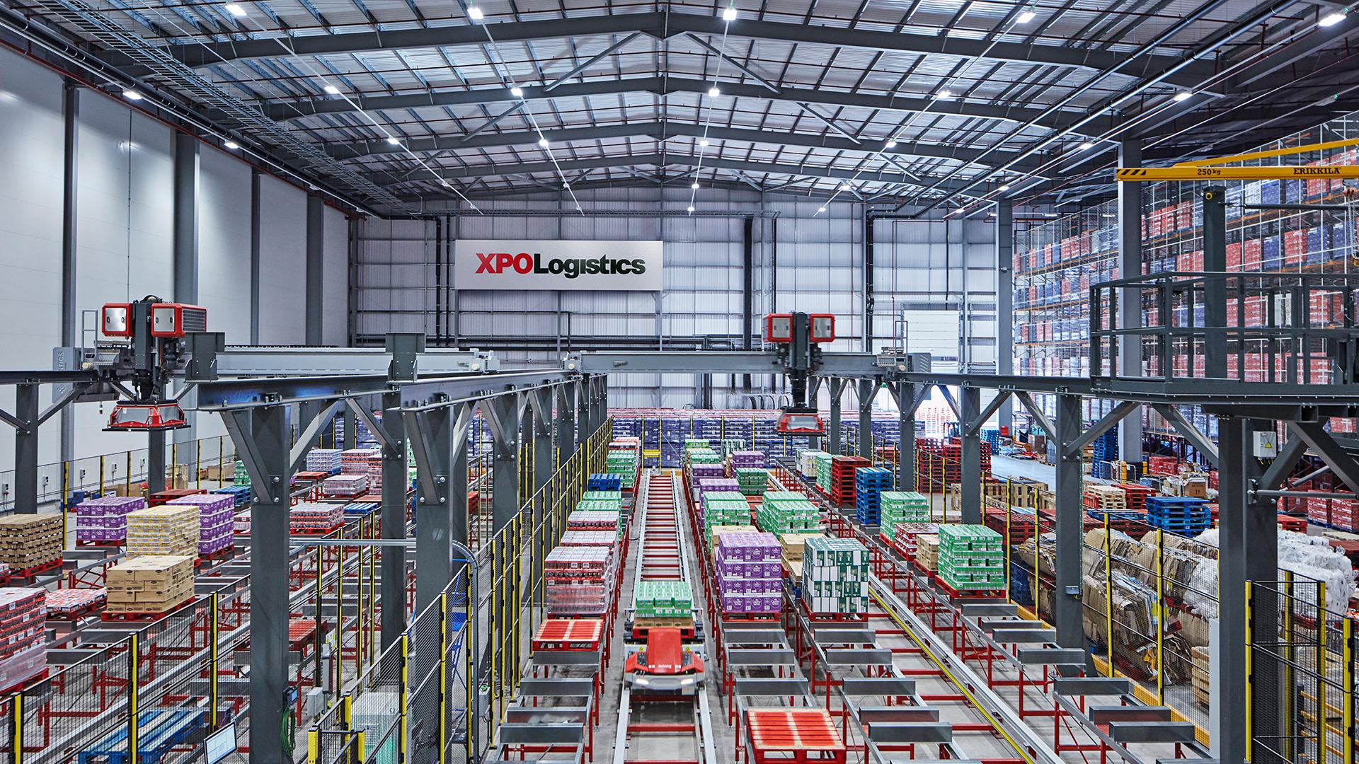XPO Logistics i Nestlé przedstawiają brytyjski cyfrowy magazyn dystrybucyjny przyszłości