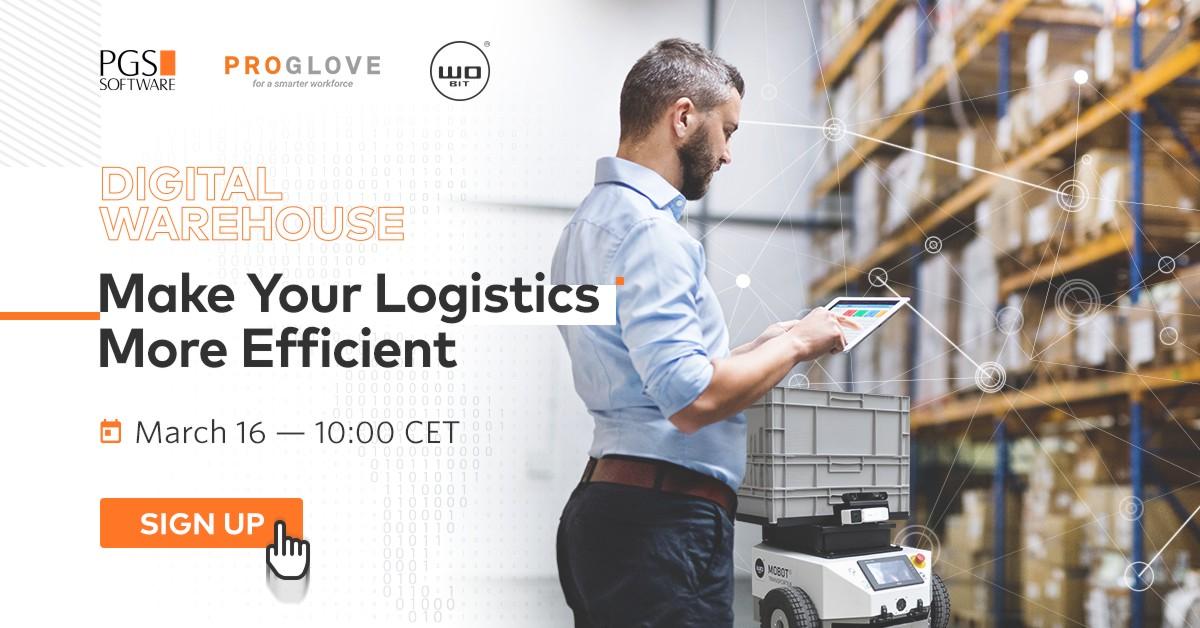 Zwiększ wydajność swojej logistyki wewnątrzzakładowej! – Zapraszamy na webinar