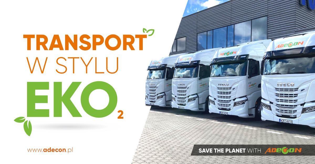 Transport w stylu eko – ADECON kupił niskoemisyjne cieżarówki