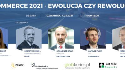 """,,E-commerce 2021 – ewolucja czy rewolucja?"""" – debata Polskiego Instytutu Transportu Drogowego"""