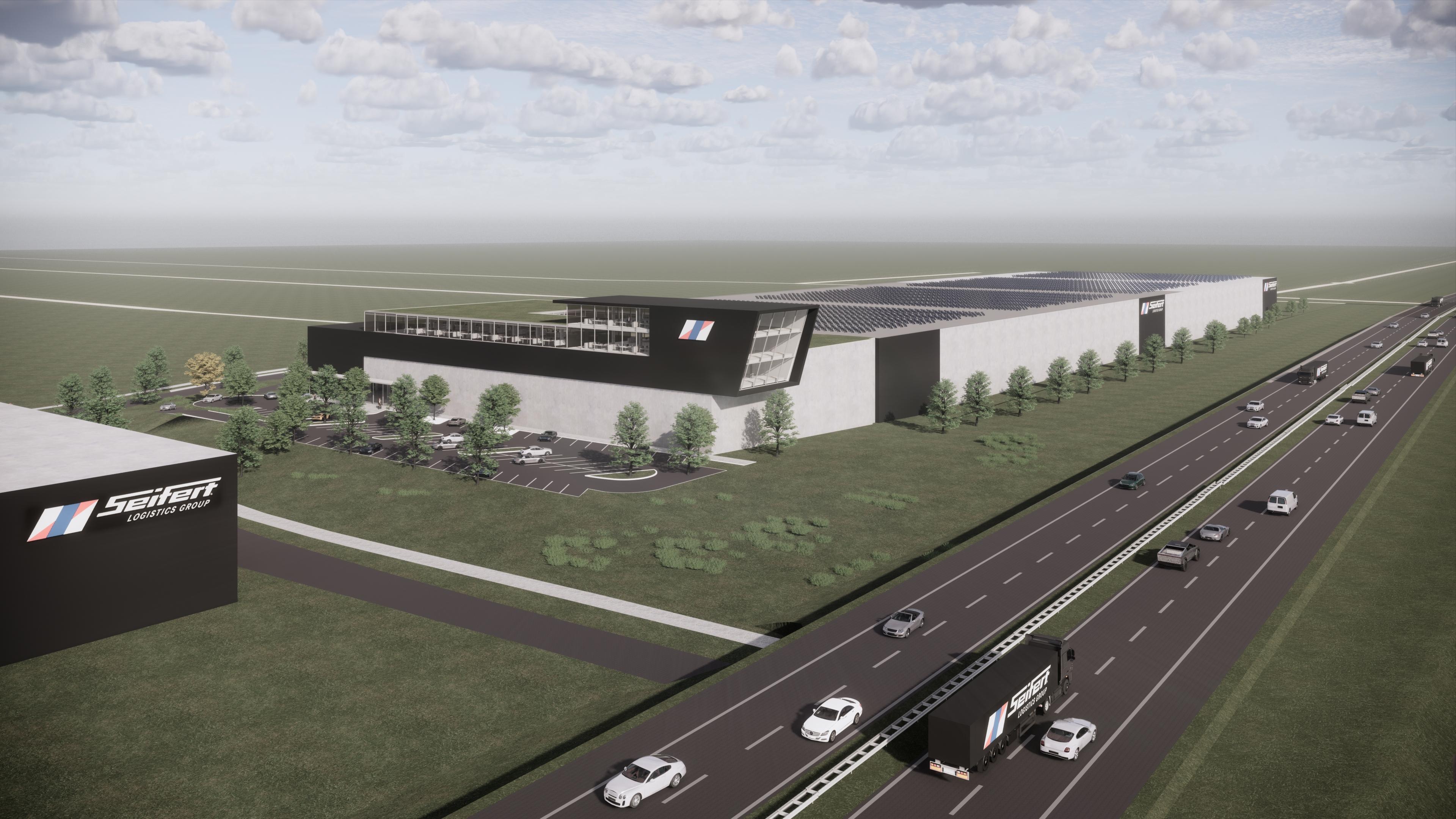 Seifert Logistics Group rozbudowuje swoją główną lokalizację