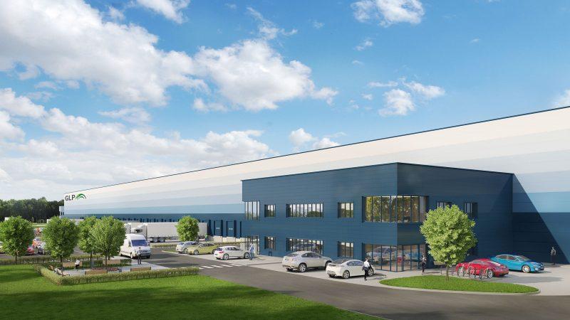 Centrum logistyczne GLP w Lędzinach z pierwszym najemcą