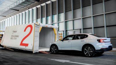 GEFCO dostarcza auta elektryczne Polestar dla klientów indywidualnych w Chinach