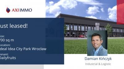 Firma Dailyfruits wprowadzi się do Ideal Idea City Park Wrocław
