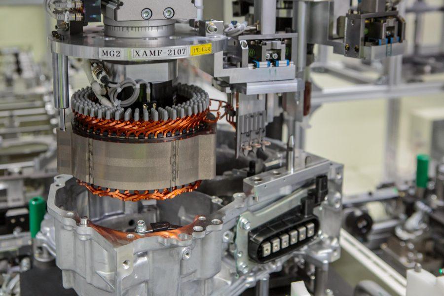 Toyota uruchomiła w Polsce produkcję napędów hybrydowych do Yarisa