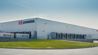 Terminal DB Schenker w Świdniku z zielonym certyfikatem