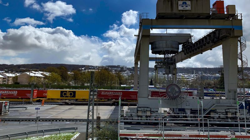 Nowe połączenie intermodalne CLIP Swarzędz – DUSS Wuppertal (Duisburg)