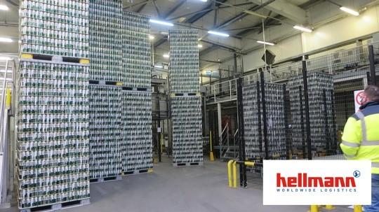 Hellmann Worldwide Logistics we współpracy in-house logistics  z Grupą Żywiec