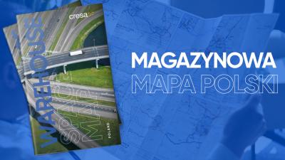 Nowa edycja mapy powierzchni magazynowych i przemysłowych