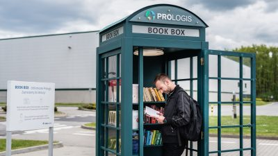 Book Boxy w parkach Prologis