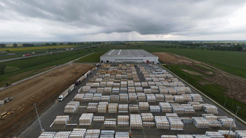 Aluplast rozpoczyna drugi etap budowy fabryki w Nagradowicach