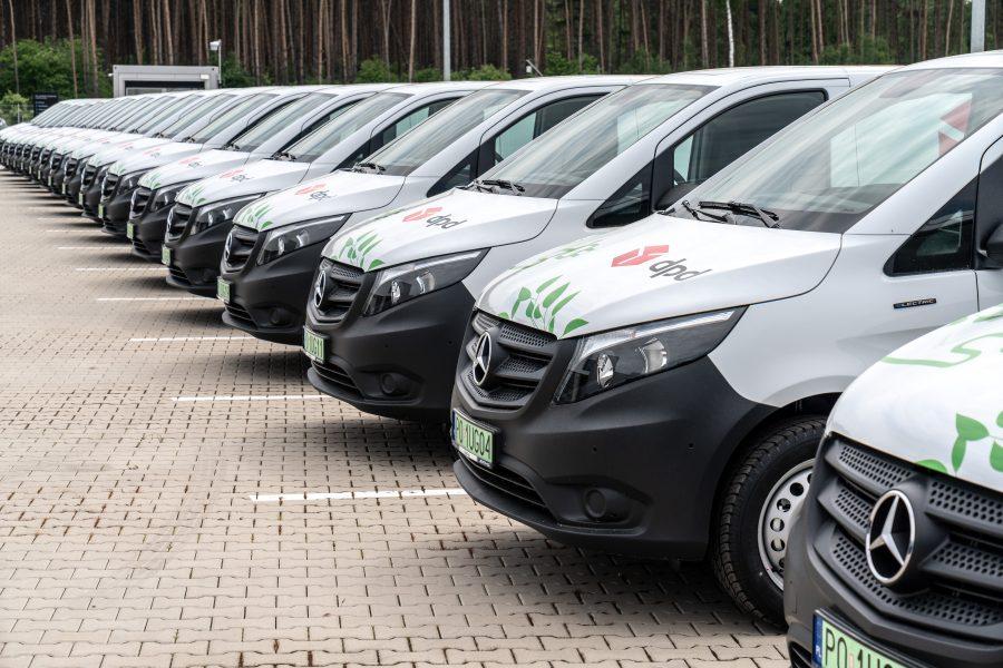 DPD Polska rozszerza elektryczną flotę o kolejne 50 pojazdów