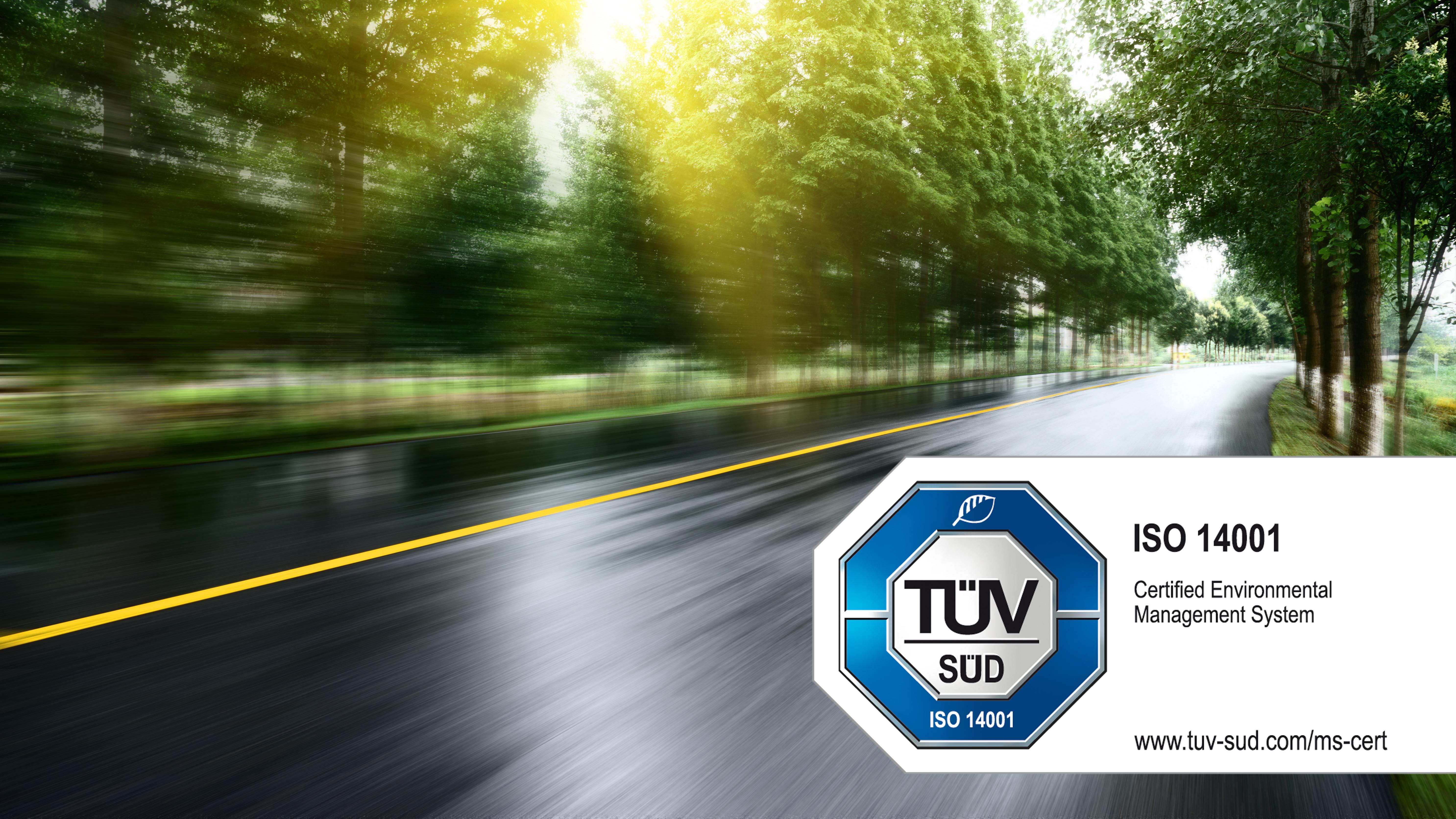 Webfleet Solutions uzyskuje certyfikat ISO 14001:2015